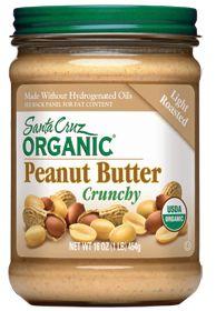 Santa Cruz Organic Peanut Butter Whole Foods