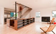 Cabinet & Stair Integration by BUILD  [Good post on how to think about the factors to consider in stair design.]