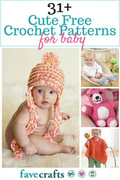 This baby crochet patterns are WAY too cute. I want to learn how to crochet all of them.