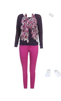 WetSeal.com Runway Outfit:  Violet by Classy Mandolin. Outfit Price $55.00