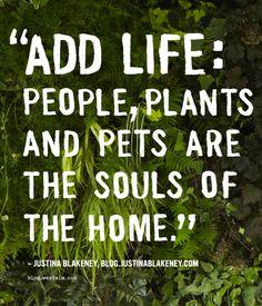 Wisdom via @Justina Blakeney :)