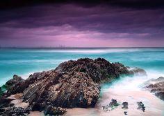 Snapper Rocks, Gold Coast Australia. by Timothy James Zwemer