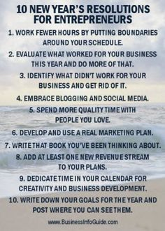This doesn't apply to me, but it sounds like a great list for entrepreneurs.  Thought some of you may enjoy it!