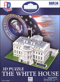 White House 3-D Puzzle | Main photo (Cover)