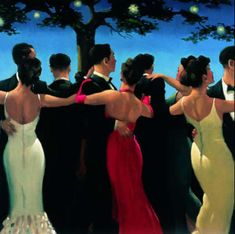 "My favorite... ""Waltzers"" by Jack Vettriano"
