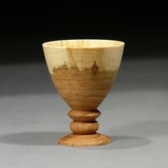 Cherry Wood Goblet GOB02 by timberturner on Etsy, $65.00