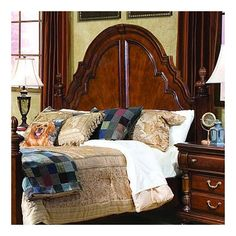 Royal Manor Poster Bed Headboard Size: King - $729.99