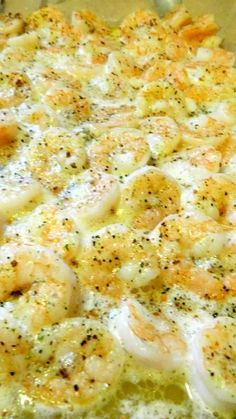 Italian Shrimp Bake Recipe ~ serve with bread to soak up all that lemon butter sauce or you could serve it over pasta.