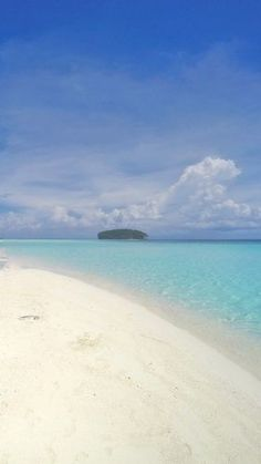 This is the Most Beautiful Beach I've ever seen!  Pasir Timbul, Raja Ampat, Indonesia