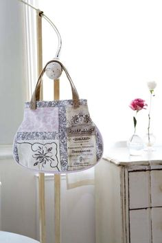 tutorial  ~  cute bag!...comes with diagram for pattern
