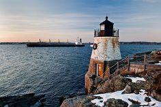 Castle Hill Lighthouse // Newport, Rhode Island