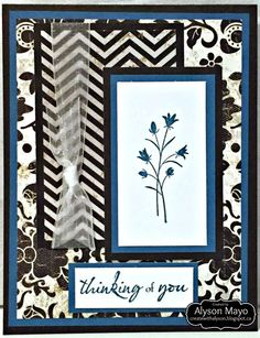 thinking of you card by Alyson Mayo