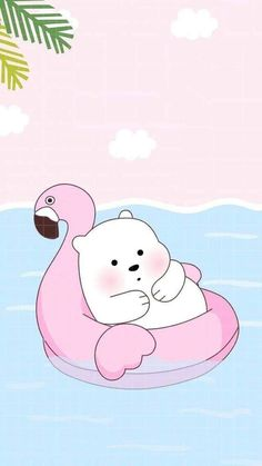 Ice Bear Uploaded Naty On We Heart It pertaining to Amazing We Bare Bears Wallpaper Baby Ice Bear - All Cartoon Wallpapers Wallpapers Kawaii, Panda Wallpapers, Cute Cartoon Wallpapers, Kawaii Wallpaper, Cute Wallpaper Backgrounds, Wallpaper Iphone Cute, Minion Wallpaper, Girl Wallpaper, Wallpaper Quotes