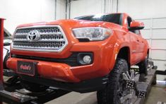 Toyota Tacoma in for a Leveling Kit and rear Lift Blocks