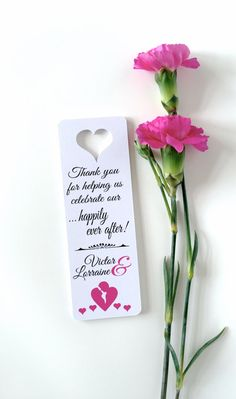Small bookmarks favors thank you bookmarks by PaperLovePrints