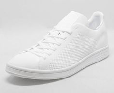 The adidas Stan Smith Primeknit takes on a summer-ready triple-white colorway