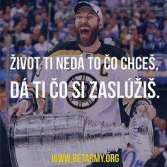 #BetArmy #motivacia #uspech #stavkovanie #chara #zdenochara #hokej #stanleycup