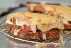 French Food Fast: A Quick Croque-Monsieur Recipe Really nice #hashtag