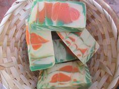 Grapefruit Bergamot Soap / Artisan Soap / by TeenysSweetSoaps