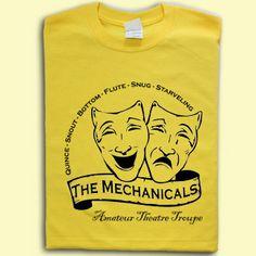 A Midsummer Nights Dream The Mechanicals Shakespeare T-shirt