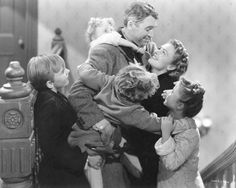 Well it's that time of year again - time to break open the 'special movies' cabinet, gather the family, light a fire and watch my favorite movie of all time. It truely is a wonderful life.