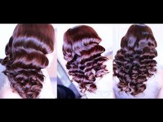 No Heat Big Old Hollywood Waves For Layered Hair -Beautyklove