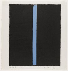 Canto Ii 1964 by Barnett Newman Barnett Newman, West Islip, New York School, Colour Field, Film Stills, Abstract Expressionism, Abstract Art, Moma, American Artists