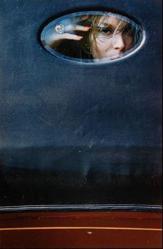 Photo: Saul Leiter, 1960s.