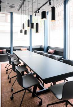 Office designs – Home Decor Interior Designs Corner Furniture, Office Furniture, Furniture Design, Office Interior Design, Office Interiors, Office Workspace, Office Decor, Office Ideas, Small Office