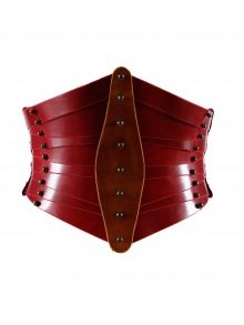 Shaped Front Corset by Unaburke (£785) | NOT JUST A LABEL