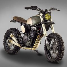 Honda #FMX650 #scrambler by @tonupgarage. So much wow.