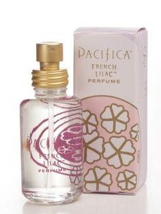 VERY FEMININE: French Lilac Pacifica perfume -lilac, magnolia petals, heliotrope, ylang-ylang, hyacinth and nectarine