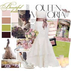 Beautiful bride, created by peachycean on Polyvore