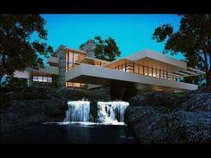 "Tour Around ""Fallingwater"" - Frank Lloyd Wright - YouTube"