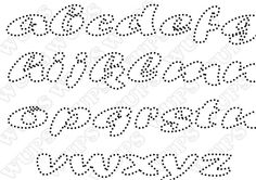 Alfabet Crochet Bow Pattern, Crochet Bows, Paper Embroidery, Embroidery Patterns, Stencil Diy, Stencils, River Rock Crafts, String Art Letters, String Art Templates