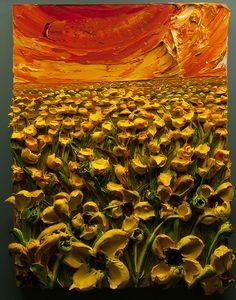 Poppy Field By: Florida Artist, Justin Gaffrey.