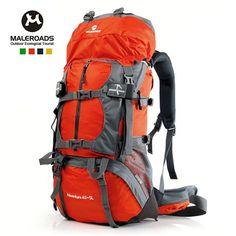 Maleroads Unisex Internal Frame Hydration Camping Hiking Travel Backpack-65L - Free Shipping- - TopBuy.com.au
