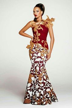 Glamorous - Ivorian Couture by Gilles Touré