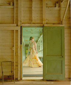 Nuno Felt Dress, Halter Wrap Maxi, Natural Dyes