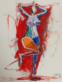 figurative abstract painting