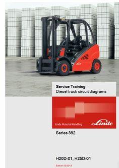 Linde Forklift 392 Series All Service Circuit Repair Manuals Electrical Diagram, Circuit Diagram, Diesel Trucks, Repair Manuals, Outdoor Power Equipment, Stapler, Train, Car, Modern