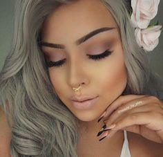 Eye Make-up - Soft eye makeup Soft Eye Makeup, Full Face Makeup, Skin Makeup, Natural Makeup, Spring Eye Makeup, Makeup On Fleek, Flawless Makeup, Gorgeous Makeup, Love Makeup