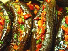 Острые, пряные маринованные баклажаны по-египетски - кулинарный рецепт