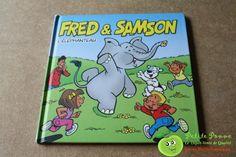 Fred & Samson - L'éléphanteau - livre cartonné - Editions Plopsa - 19x19 cms