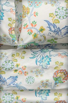 Sunbird Sheets #Anthropologie