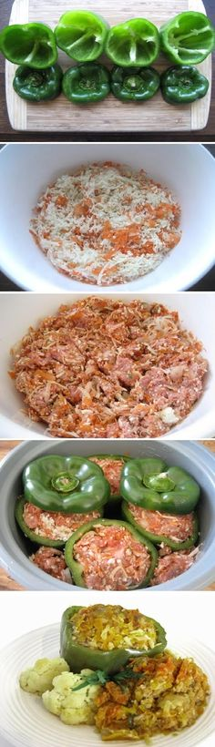 Crock Pot beef Peppers- with Grandma's recipe, of course ;)