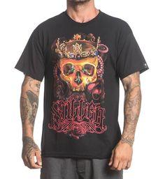 http://cdn.shopify.com/s/files/1/1096/0120/products/SCM1007_Crown_Of_Roses_Black_tee_art_skull_jewels_ocotpus_DJ_Agrata_glow_D1_grande.jpg