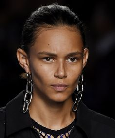 Spotted on the Spring 2016 Runways: Outrageously Cool Statement Earrings - Alexander Wang - from InStyle.com