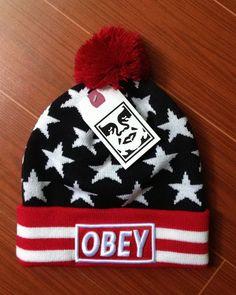 be0746d5978976 street style obey winter hats skullies beanies [LX2013091808] - $10.99 : Buy  Hats,