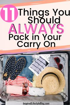 All travel can be stressful, I'm sharing with you how to make the perfect carry on bag by sharing what to pack in a carry on and what airport essentials you need next time you travel! #travel #traveltips travel tips airplane, travel hacks, carry on essentials, carry on packing list, what to pack in carry on, airport hacks, airport travel hacks #TravelTipsAirplane #TravelHacks #CarryOnEssentials #CarryOnPackingList #WhatToPackInCarryOn #AirportHacks #TravelTips #AirportTravelHacks Weekend Packing List, Packing Tips For Vacation, Packing Lists, Vacation Trips, Carry On Bag Essentials, Carry On Packing, Travel Packing, Travel Hacks, Travel Tips